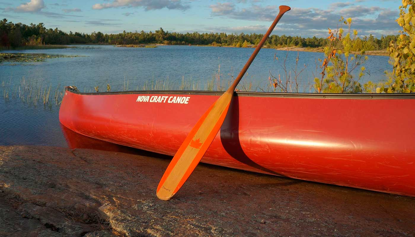 Canoa Canadense - Paddles