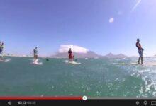 Downwind clássico na Africa do Sul