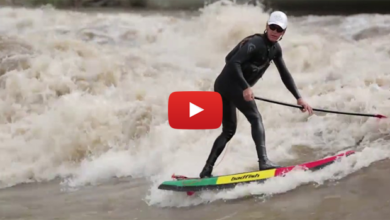 SUP Vídeo: Sup Surf no rio Colorado
