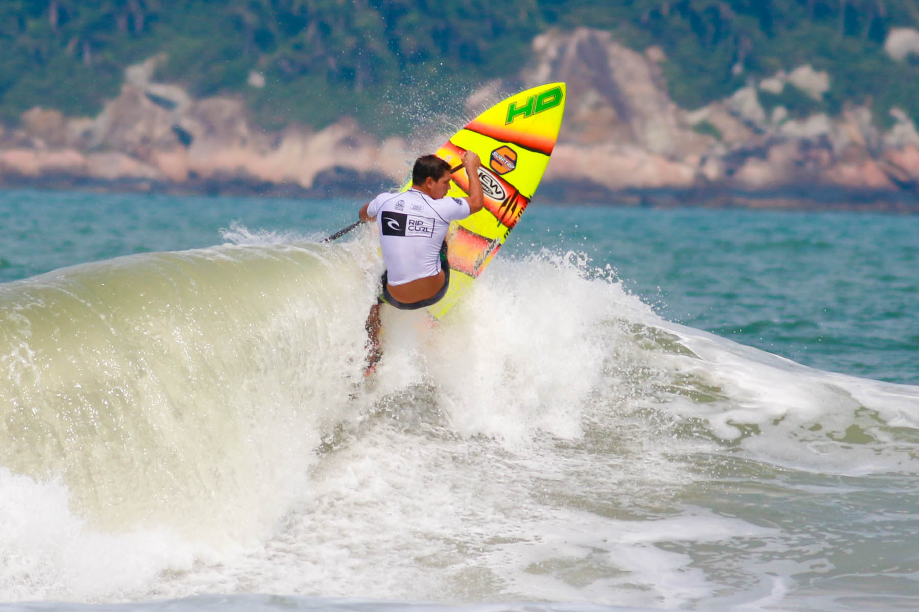 Rip Curl Guarujaense de Surf, Imagens de SUP