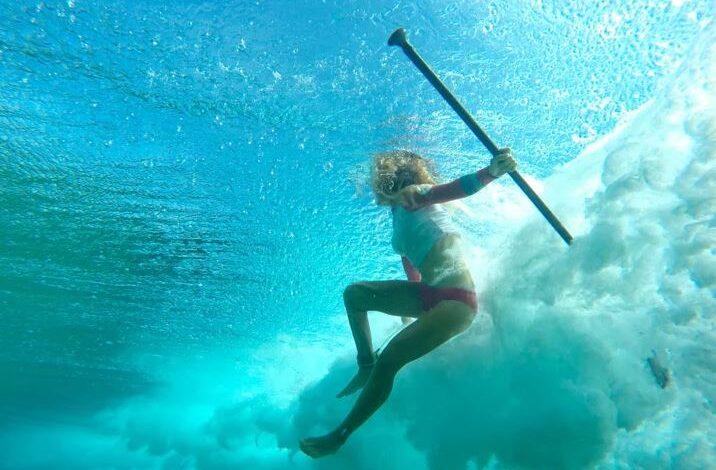 Sup Surf nas Ilhas Turcas e Caicos