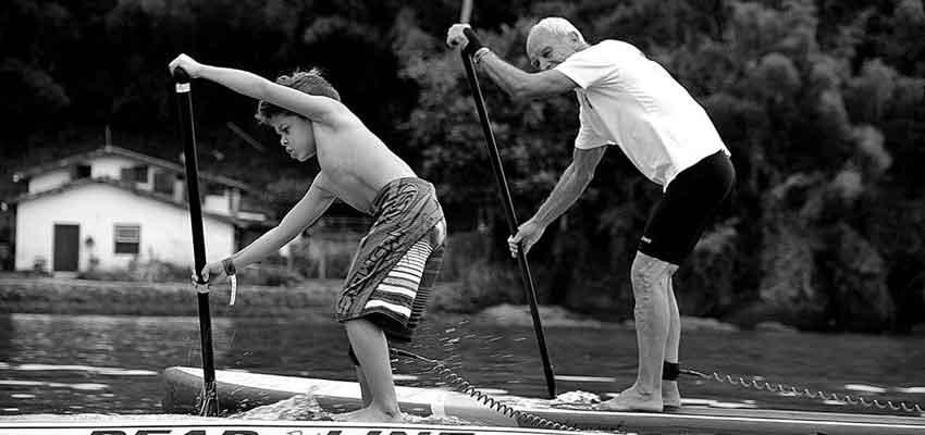Passado e presente do Stand Up Paddle