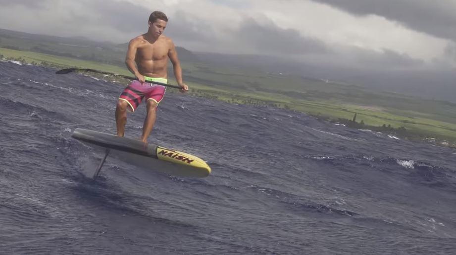 Uma nova possibilidade de prancha - SUP Race Hydrofoil