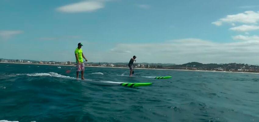 Sup Downwind na Gold Coast
