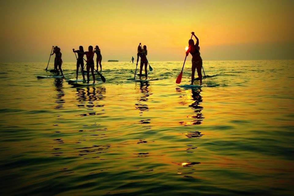 Stand Up Paddle em Santos