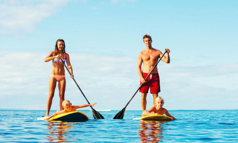 benefícios do stand up paddle