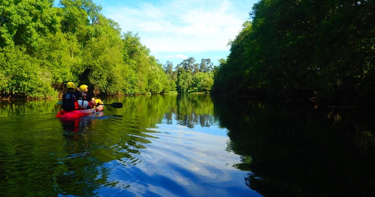 onde praticar canoagem